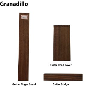 Granadillo Finger Board / Bridge / Head Cover